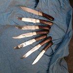 Unsere Messer :-)