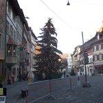 Typical street scene during December