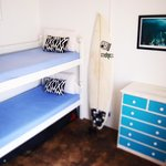 A quiet place to rest your head, the Bunk Bed Room is simple and clean.