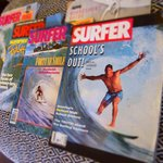 Kick back with one of the vintage surf magazines at Umzumbe Surf House
