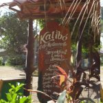 look for this sign to find Kalibo restaurant