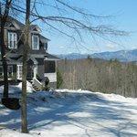 Snow at the Snowvillage Inn
