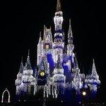 Cinderella castle Christmas style!
