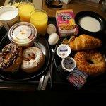 Leckeres Frühstück mit großer Auswahl