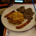 plato de moros con carne