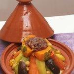 Spécialité marocaine Couscous légumes