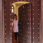Porte entrée Riad