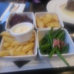 yummie sides that come separatley with every main you order