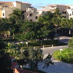 View from room C302 looking out at road and Grace Bay Resort, 2 min walk to beach.