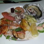 Seafood night at Beachcombers