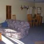 Deluxe apt living room
