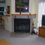fireplace Deluxe apts