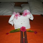 Cute towel creation