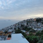 View on the Vidigal from the Terrace