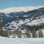 Croda Rossa vista dalla cima skilift