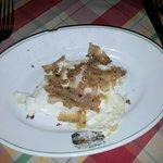 Frittata con tartufo bianco  Non ci sono parole solo eccezionale