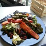 Deck Terazza Urbana:Grilled vegetable salad