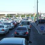 Ruch samochodowy na ulicy
