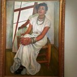 Museum of Modern Art: Painting of a woman by Diego Rivera