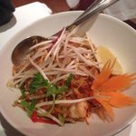 Pad Thai: one of the better ones I've had.  Not stodgy but could do with more nuts in my view.
