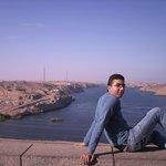lake nasser behind high dam