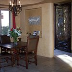 Another lobby dining area