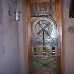 Wagon wheel door