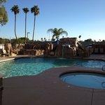 Mesa Hilton poolside