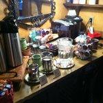 Lobby tea and coffee