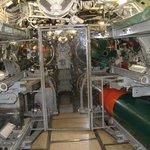 Torpedo Room and Crews' Quarters, submarine Clamagore