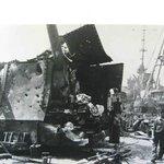 Battle damage, Laffey
