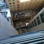 Balcony 1 looking down