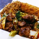 Beef with Mixed Vegetables Lunch Combo