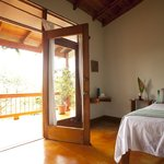 Harmony suite - leads out to balcony overlooking jungle