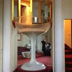 Champagne glass Jacuzzi tub