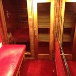 Sauna and massage table