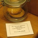 cookies in the room, the Gallery, Thirsk