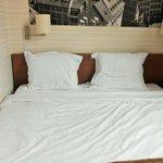 Chambre av. grand lit