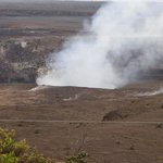 Steam from Crater at Jagger