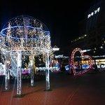 藤枝駅前イルミ1