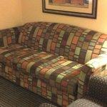 Separated Sofa Area