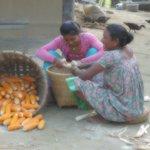Tharu villagers