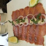 smoked fish Maliki,  it's a starter but can really be a meal