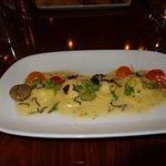 Pumkin ravioli - very nice