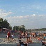 пляж Штранд, Нови Сад, Сербия, июль 2013