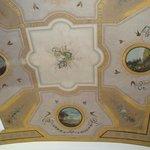 Frescos en el techo