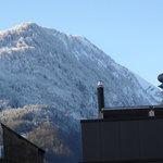 Vista do Quarto Hotel Weisses Kreuz, Interlaken