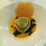Butternut squash and truffle ravioli