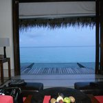 View from the Water Villa