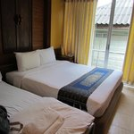 our standard room with extra bed